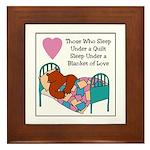Quilt - Blanket of Love Framed Tile