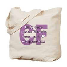 *heart* grandson Tote Bag