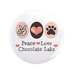 Peace Love Chocolate Lab 3.5