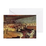 Cicero - Freedom Greeting Cards (Pk of 10)