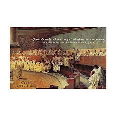 Cicero - Freedom Mini Poster Print
