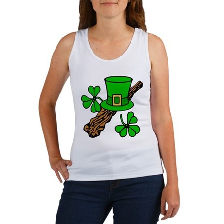 Irish Shillelagh Women's Tank Top