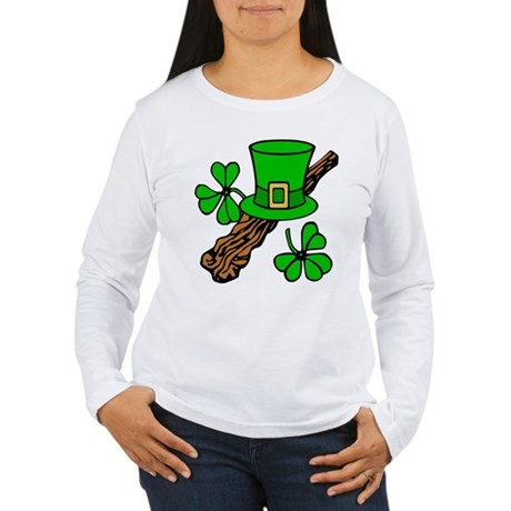 Irish Shillelagh Women's Long Sleeve T-Shirt