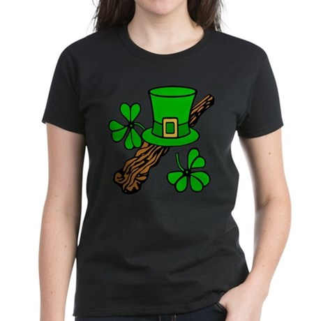 Irish Shillelagh Women's Dark T-Shirt