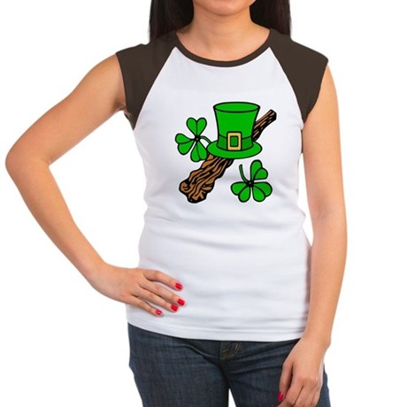 Irish Shillelagh Women's Cap Sleeve T-Shirt