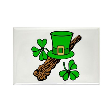 Irish Shillelagh Rectangle Magnet (10 pack)