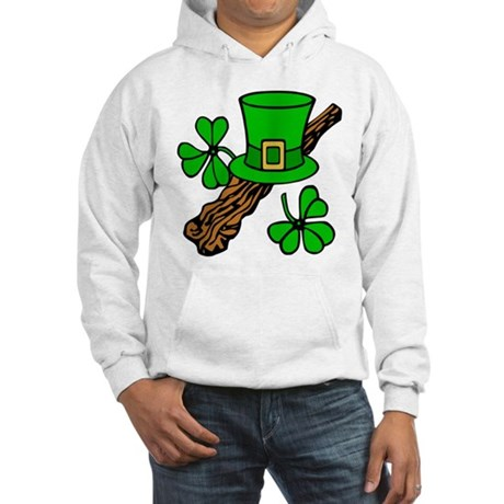 Irish Shillelagh Hooded Sweatshirt
