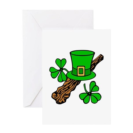 Irish Shillelagh Greeting Card
