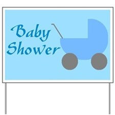 baby boy shower sign
