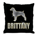 Bling Brittany Throw Pillow