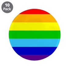 "Rainbow 3.5"" Button (10 pack)"