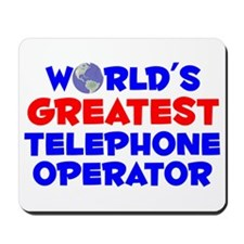 World's Greatest Telep.. (A) Mousepad
