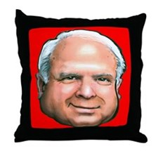 Political caricatures Throw Pillow