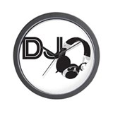 DJ Wall Clock