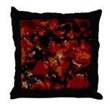 Picks a la Hot Fudge Throw Pillow