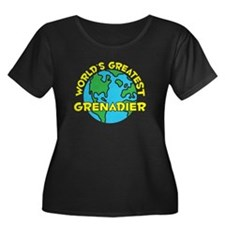 World's Greatest Grena.. (H) Women's Plus Size Sco