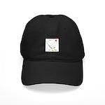 Leghorn White Hen Black Cap
