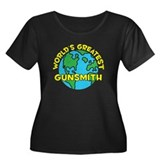 World's Greatest Gunsm.. (H) Women's Plus Size Sco