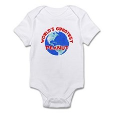 World's Greatest Peanut (F) Infant Bodysuit