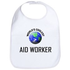 World's Coolest AID WORKER Bib