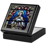 MaryStainedGlass Keepsake Box