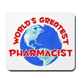 World's Greatest Pharm.. (F) Mousepad