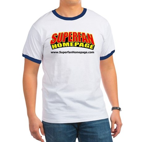 Superman Homepage RingerT-Shirt
