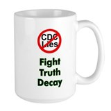 Fight Truth Decay Mug