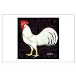 Leghorn Rooster Large Poster