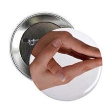 """Hold Hands 2.25"""" Button"""
