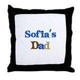Sofia's Dad Throw Pillow
