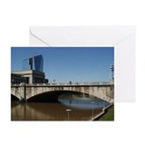 10 Philadelphia Greeting Cards: Market St. Bridge