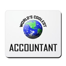 World's Coolest ACCOUNTANT Mousepad