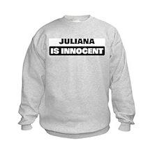 JULIANA is innocent Jumpers