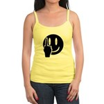 Smilie Face Finger Jr. Spaghetti Tank