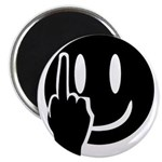 Smilie Face Finger Magnet