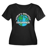 World's Greatest Drummer (G) Women's Plus Size Sco