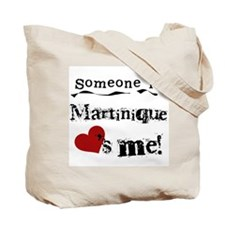 Martinique Loves Me Tote Bag