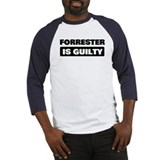 FORRESTER is guilty Baseball Jersey