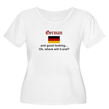 Gd Lkg German Women's Plus Size Scoop Neck T-Shirt