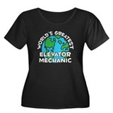 World's Greatest Eleva.. (G) Women's Plus Size Sco