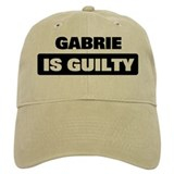 GABRIE is guilty Baseball Cap
