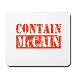 CONTAIN MCCAIN Mousepad