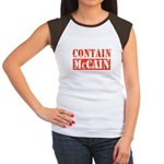 CONTAIN MCCAIN Women's Cap Sleeve T-Shirt