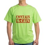 CONTAIN MCCAIN Green T-Shirt