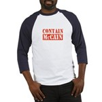 CONTAIN MCCAIN Baseball Jersey