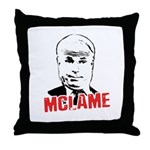 McLame Throw Pillow