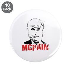 """McPain 3.5"""" Button (10 pack)"""