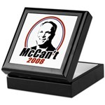 McCan't 2008 Keepsake Box