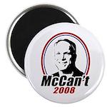 McCan't 2008 Magnet